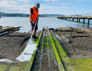 Clean boat ramps - Wellington City Council